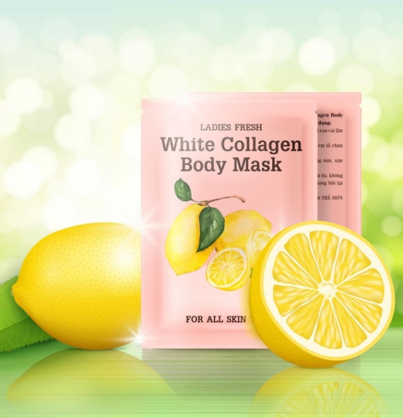Ủ Trắng Chanh White Collagen Body Mask